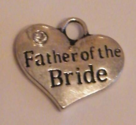 Father Of The Bride Bookmark - Elegance Style